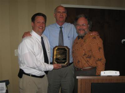 2011 Richard Dideriksen award winner Bob Whitwam